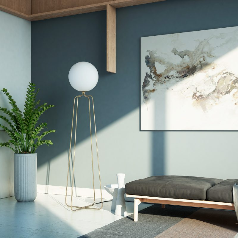 Cosmonaut Floor Lamp - MUMOON