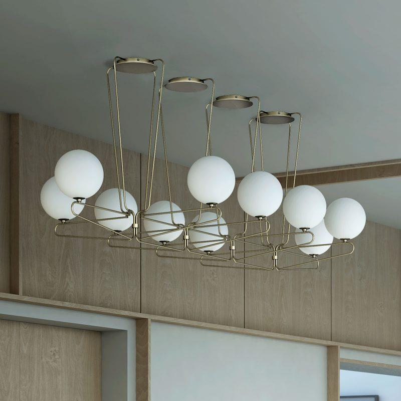 Cosmonaut Ten Pendant Lamp - MUMOON