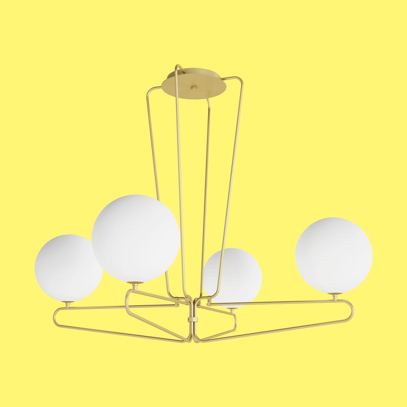 Cosmonaut Four Pendant Lamp - MUMOON