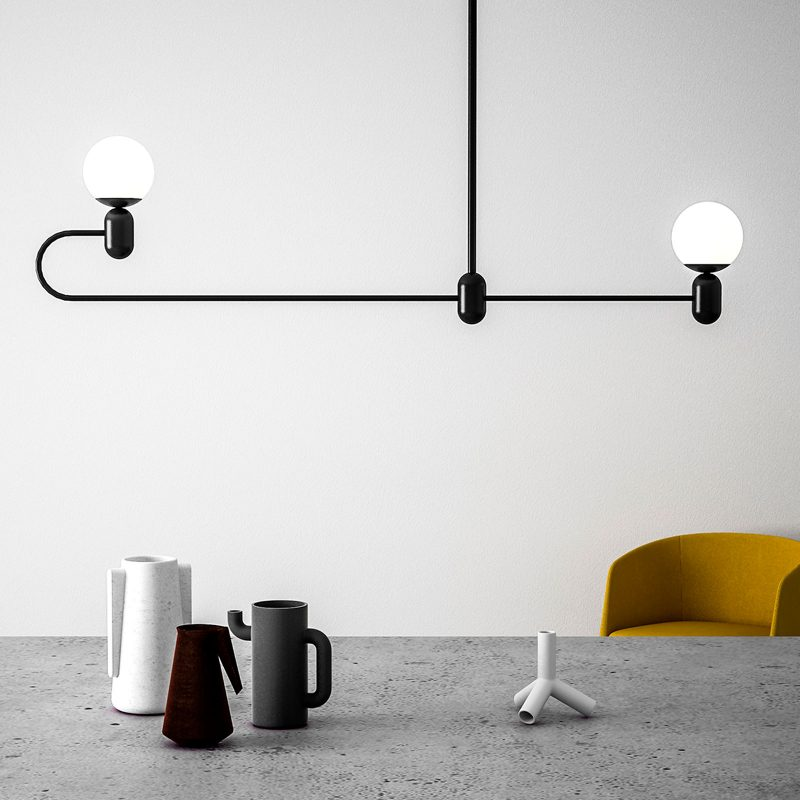 Glob Pendant Lamp 2C - MUMOON